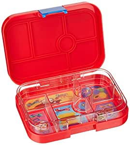 yumbox aztec red leakproof bento lunch box container for kids kitchen dining. Black Bedroom Furniture Sets. Home Design Ideas