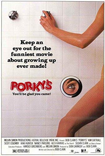 Movie Posters 27 x 40 Porky's