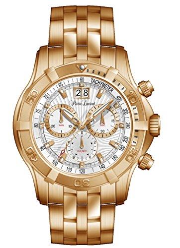 Pierre Laurent Men's Chronograph Swiss Watch w/ Date, 23201