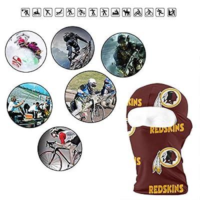 Sorcerer Custom Balaclava Full Face Mask Hood Washington Redskins Outdoor Sports Hunting Cycling Motorcyle Tactical Ski Face Cover Helmet