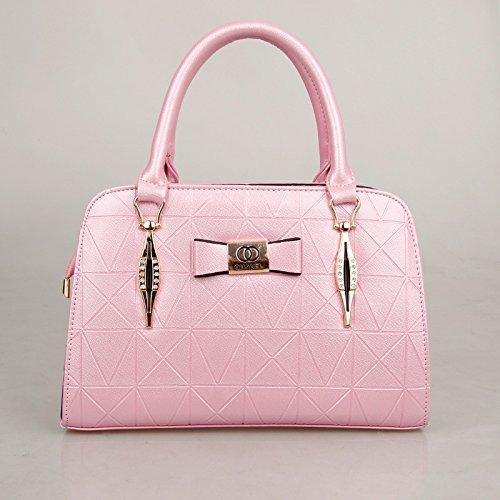 bag Span nuova Slanted Xwan Pink Donna Pu Moda coreana versione Pink Z08dW8B