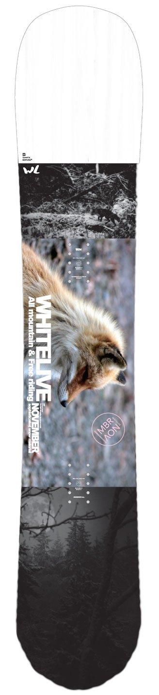 18-19 NOVEMBER ノベンバー スノーボード WHITELIVE ホワイトライブ ノーベンバー レディース サイズ パウダー フリーラン 板 B07CFX3FQ3  145.6cm WHITE_LIVE_Ladys
