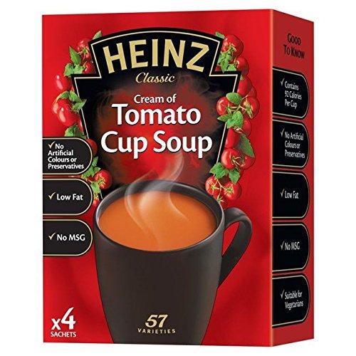 Heinz Tomato Cup Soup - 4 x 22g (0.19lbs)