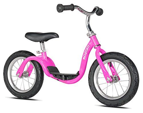 KaZAM v2s No Pedal Balance Bike, 12-Inch, Pink