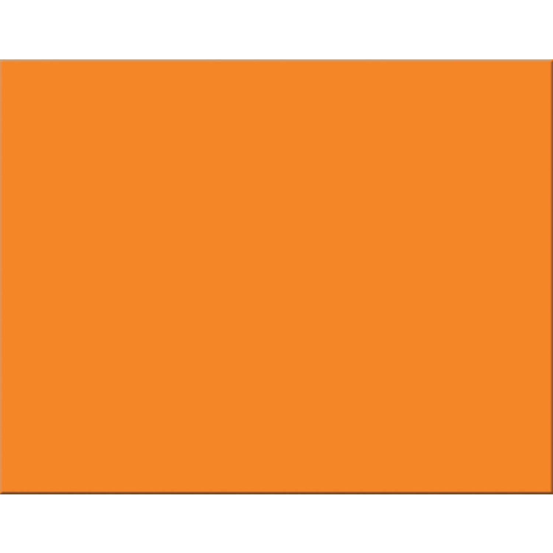Pacon PAC54781 4-Ply Railroad Board, Orange, 22'' x 28'', 25 Sheets