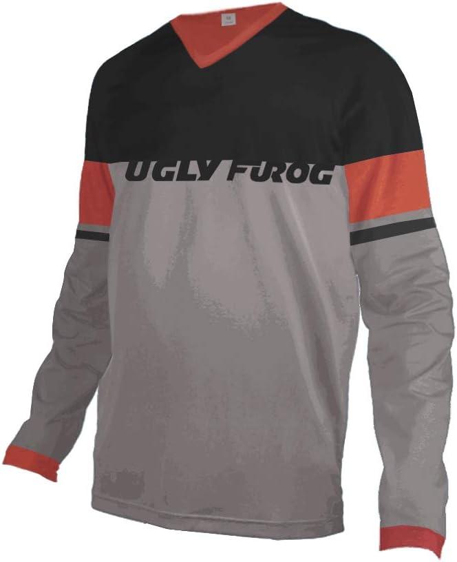 Uglyfrog UKHNEJ09 Bike Wear Mens Downhill Motocross Jersey Rage MTB Cycling Top Cycle Long Sleeve Spring Mountain Bike Shirt