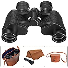 OUTERDO Binoculars Telescope Military Binoculars with Low Light Night Vision for Wildlife Hunting Surveillance Sporting Events Traveling or Sightseeing 6X24 HD German Technology