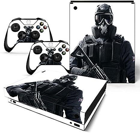XBOX ONE X Skin Design Foils Pegatina Set - Soldier Motivo: Amazon ...