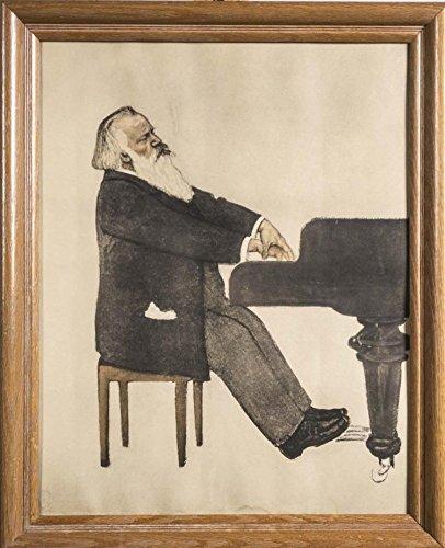 (Brahms, Johannes. (1833-1897) [Beckerath, Willy von. (1868-1938)]:
