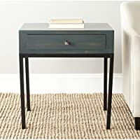 Safavieh American Homes Collection Adena Steel Teal End Table