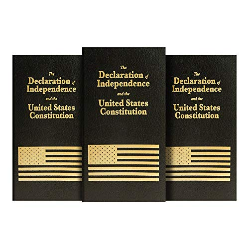 US Constitution And Declaration of Independence, Alpha Pocket Edition. (3)
