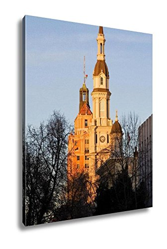 Ashley Canvas Catholic Church At Sunset, Kitchen Bedroom Living Room Art, Color 30x24, AG6512932 by Ashley Canvas