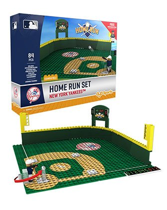 Mlb Home Runs - Oyo Sportstoys MLB New York Yankees Home Run Derby Set with Minifigure, Small, White