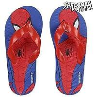 Spiderman S0711452, Flip Flop Unisex-Bambini, Rosso, 29 EU