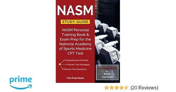 nasm study guide nasm personal training book exam prep for the rh amazon com CPT Procedure Codes MRI CPT Codes List