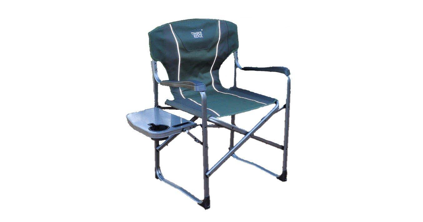 Timber Ridge für Camping faltbar Stuhl mit Beistelltisch Kapazität 134 kg