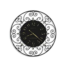 Howard Miller Joline 36 Black Iron Wall Clock