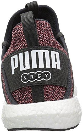 Puma Womens Mega Nrgy Knit Wn Sneaker Speziato Corallo-puma Nero-puma Bianco