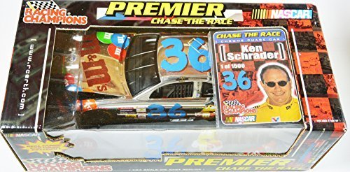 Premier Chace the Race Nascar m&m Ken Schrader 1:24 Scale #36 Chrome by Racing Champions