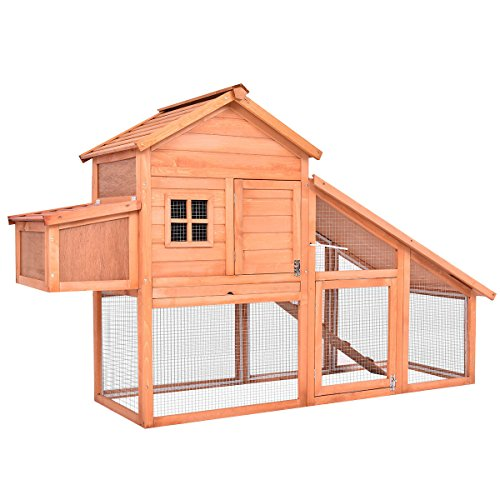 Tangkula-75-Wooden-Pet-House-Chicken-Coop-Rabbit-Bunny-Cage-Backyard-Nest-Box-Hen-House-Hutch-wRun