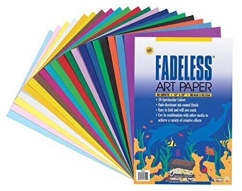 Fadeless 0057530 Sulphite Acid-Free Art Paper, 50 lb., 12