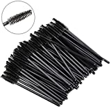 yueton Pack of 100 Disposable Eyelash Brushes Wands Mascara Applicator