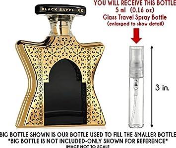 6077a3f31905 Amazon.com   Bond No. 9 Dubai Black Sapphire Eau de Parfum Glass Mini  Travel Spray (5ml)   Beauty