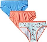 Lucky Brand Kids Girl's Ditsy Floral 3-Pack Bikinis (Little Kids/Big Kids) Assorted SM (6 Little Kids-7 Big Kids)