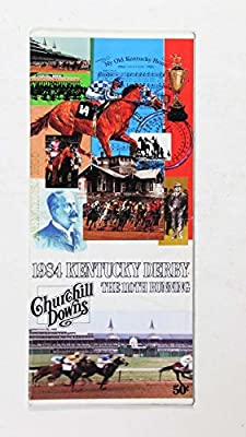 1984 Kentucky Derby 110th Running Churchill Downs Program Nice