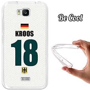 BeCool® - Funda Gel Flexible Huawei Honor Bee Y5C Kroos Carcasa Case Silicona TPU Suave