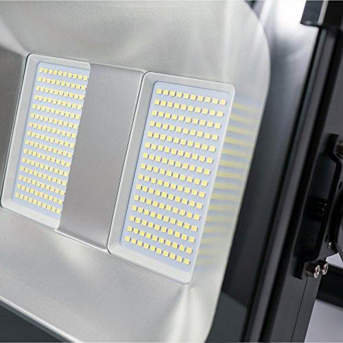 Enlight LED LD-FD-K150U UL Certified 150W LED Flood Light 120 Degree Light Angle 15,000 lm, Cool White, Heavy Duty Aluminum by Enlight LED (Image #2)