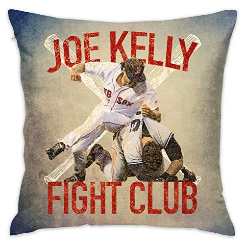 Lolpdd Vintage Joe Kelly Fight Boston Baseball Club Throw Pillow Case 18-18 -