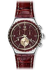 Swatch Men's Destination Paris YVS418 Stainless Steel Wrist Watches
