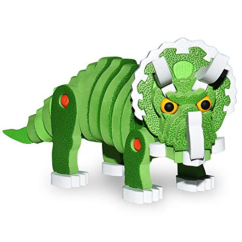 ATOPDREAM Educational Toys for 3-8 Year Old Boys Girls Toddlers, TOP Toy 3D Dinosaur Toys Puzzles for 3-8 Year Old Boys Girls Kids Ages 3-8 Christmas Xmas Stocking Stuffers Fillers SJL11