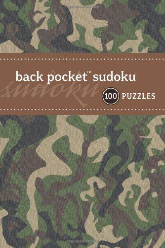 Download Back Pocket Sudoku: 100 Puzzles (Back Pocket (Puzzle Society)) PDF