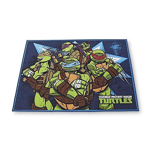 Nickelodeon Teenage Mutant Ninja Turtles Area Rug 40 x 45