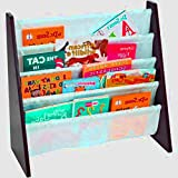 Baby Book Rack Wall for Children, Coloring Book, Recipe Book, Kids Book and for School Little Comic Book Shelf Rack & E-Book