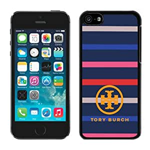 Unique And Luxurious Custom Designed Cover Case For iPhone 5C With Tory Burch 02 Black Phone Case