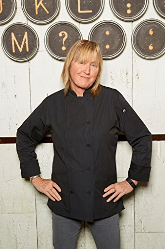 Chef Works Women's Carlisle Executive Chef Coat, Fine Stripe, 2X-Large by Chef Works (Image #3)
