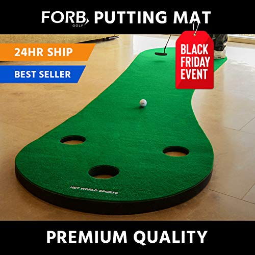 FORB Home Golf Putting Mat 10ft Long