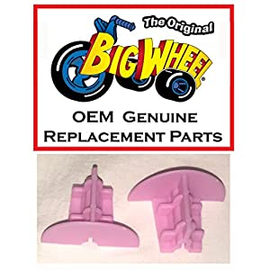 """2 Pink Wheel Inserts for 16"""" MINNIE MOUSE The Original Big Wheel, Original Replacement Parts"""