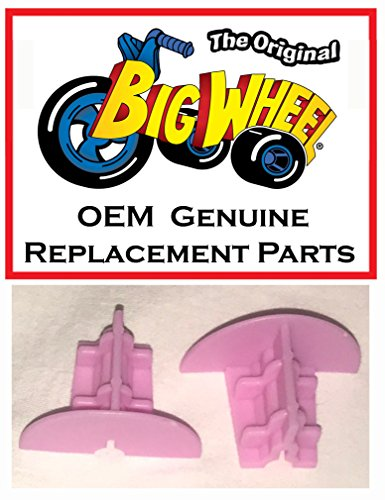 "2 Pink Wheel Inserts for 16"" MINNIE MOUSE The Original Big Wheel, Original Replacement Parts"