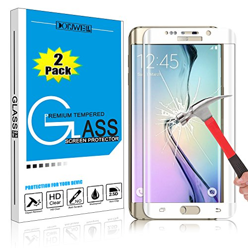 Tempered Glass Protector for Samsung Galaxy S6 Edge G925F (Clear) - 5
