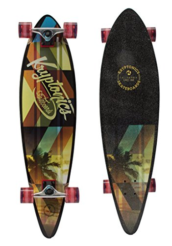 Kryptonics 37″ Pintail Longboard, Slanted
