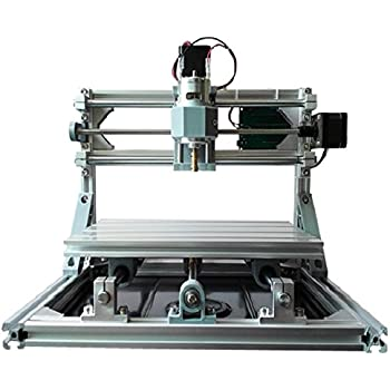 2-in-1 DIY Laser CNC Kit: 24x18cm 3 Axis CNC Router + 500mw Laser Engraver - PCB Milling, Wood Carving, Engraving Machine