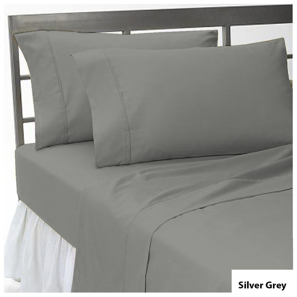 Full XL , White 1200 Thread Count 25 inches Extra Deep Pocket 100/% Egyptian Cotton Mattress Sheet Set 1 Piece Fitted Sheet /& 2 Piece Pillow Cases Solid Pattern