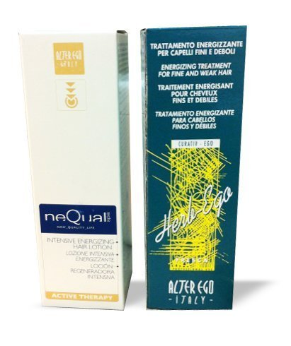Alter Ego Intensive Energizing Lotion 125ml+ Alter Ego herb ego treatment125ml (Ego Care Alter Hair)