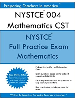 CST Math 004 teacher certification exam