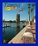 Best Ultimate Iron-On Tampa Florida Travel Collectable Souvenir Patch - Destination Photo Souvenir Postcard Type Quality Photos Graphics - Tampa Florida
