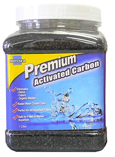 Odyssea Activated Carbon Premium Grade Filter Media Aquarium Pond w/Mesh Bag